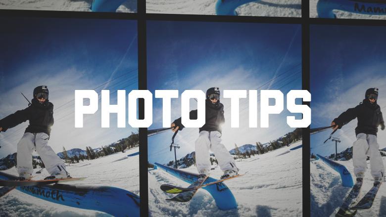 gopro photo shooting tips